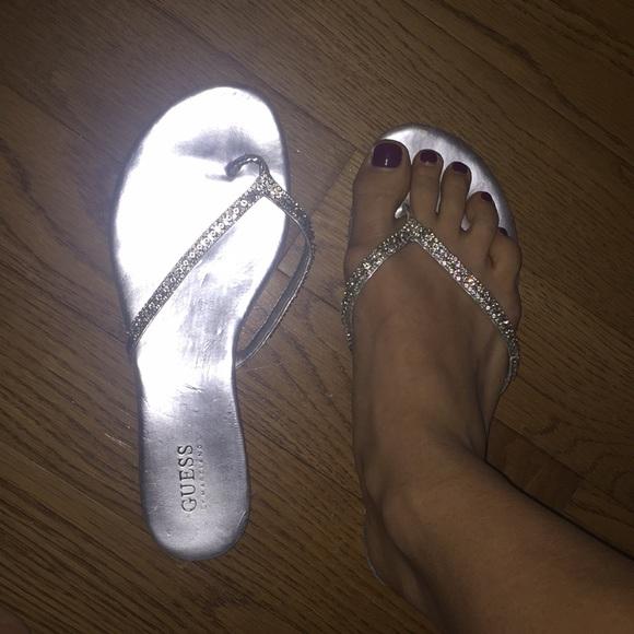 83709d5e7 Guess Shoes   Dressy Flat Sandals   Poshmark